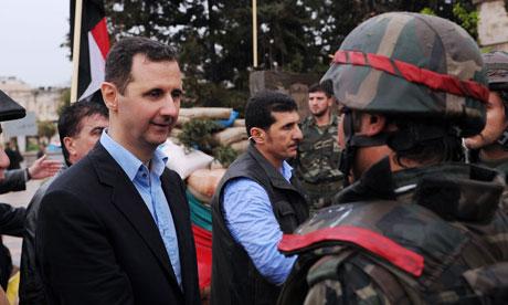 Assad in Syria