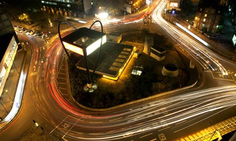 Old Street roundabout – aka Silicon Roundabout