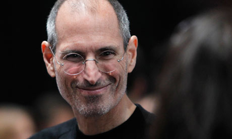Apple CEO Steve Jobs at an event in San Francisco