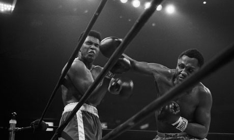 Joe Frazier beats Muhammad Ali at Madison Square Garden in 1971