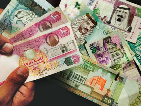 Currencies of countries in the GCC