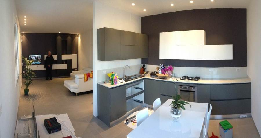 Come arredare la cucina e il soggiorno. Idee Cucina Soggiorno 25 Mq 2021 Fundomega1 Com