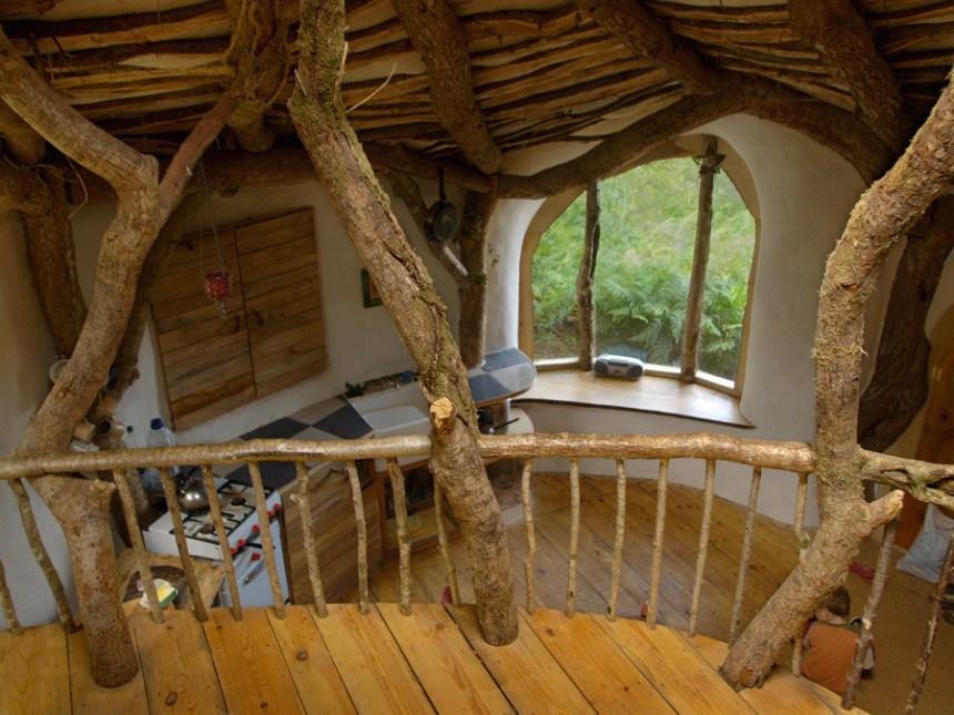Interno casa in legno