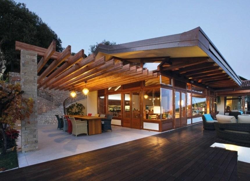 Villa prefabbricata a Montecarlo