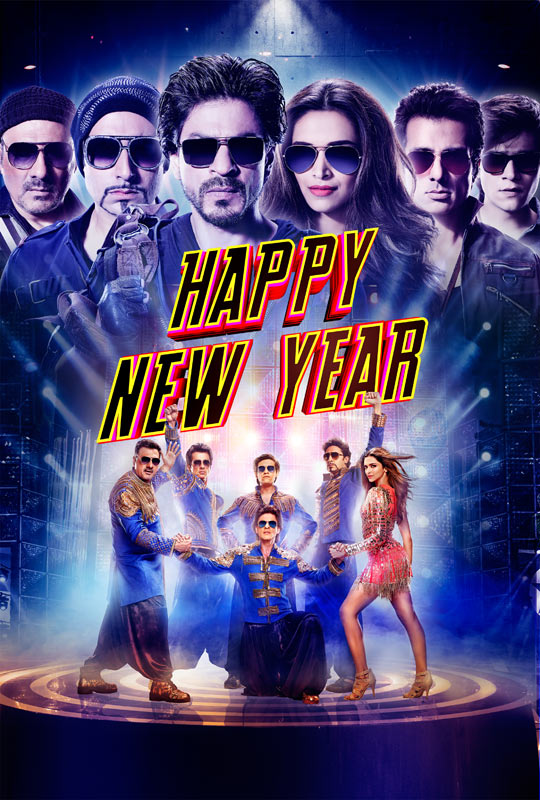 happy new year poster hd