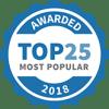 #3 Most Popular 2018