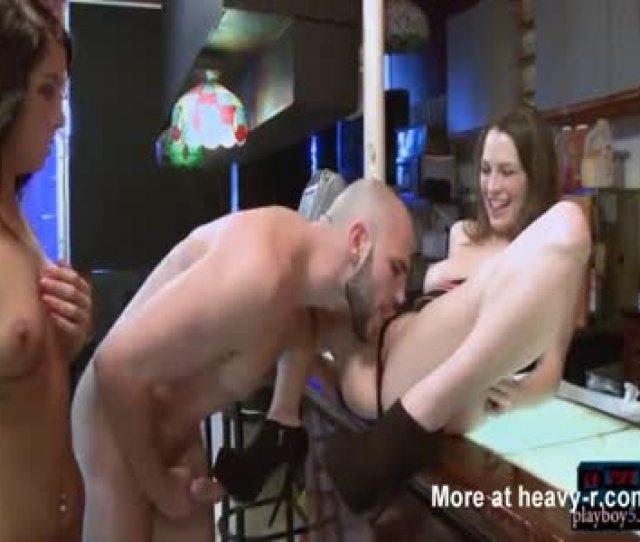 Porn Shoot During Bartending Job Interview