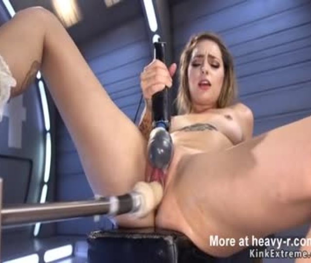 Machinery Makes Her Cum