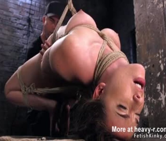 Slave In Hogtie Pussy Whipped