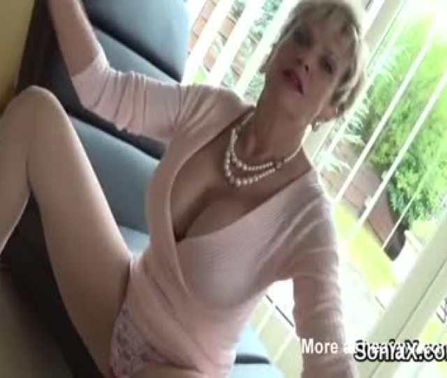 Mature Housewife Undressing And Teasing