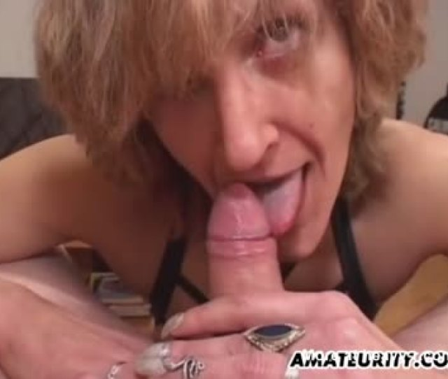 Drunk Mom Gives Son Blowjob