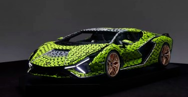 We'll Take LEGO's Life-Size Lamborghini Sián Over the Real Thing