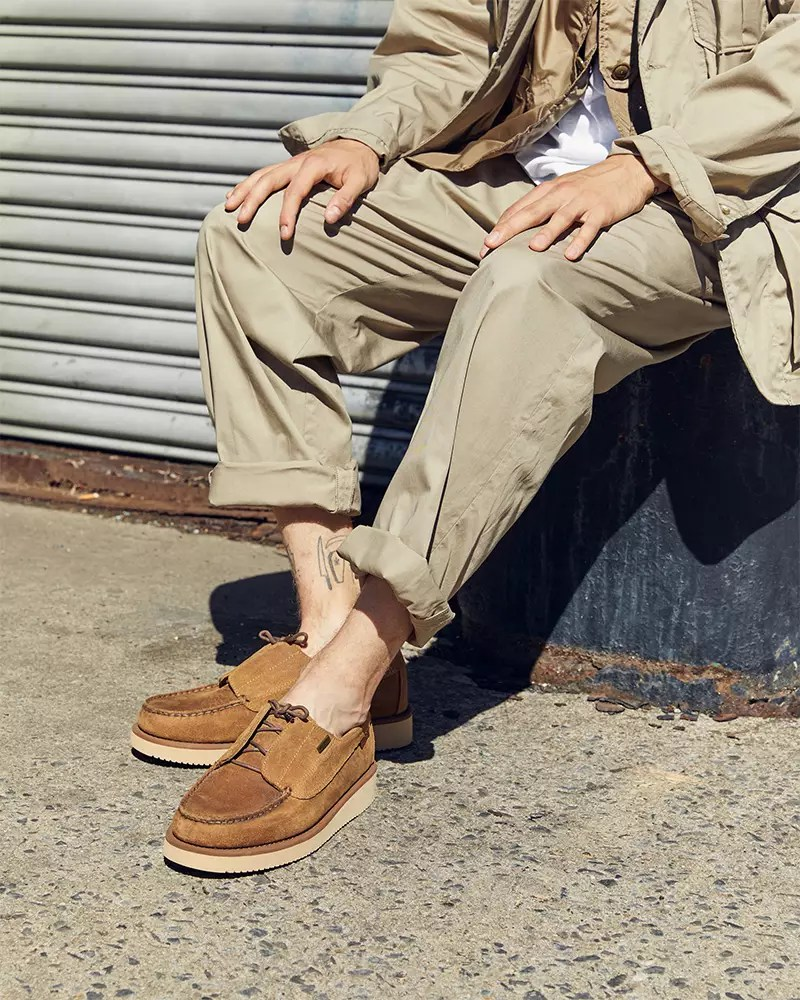 Engineered Garments x Sebago Gives the Boat Shoe the Update We've Been Waiting For