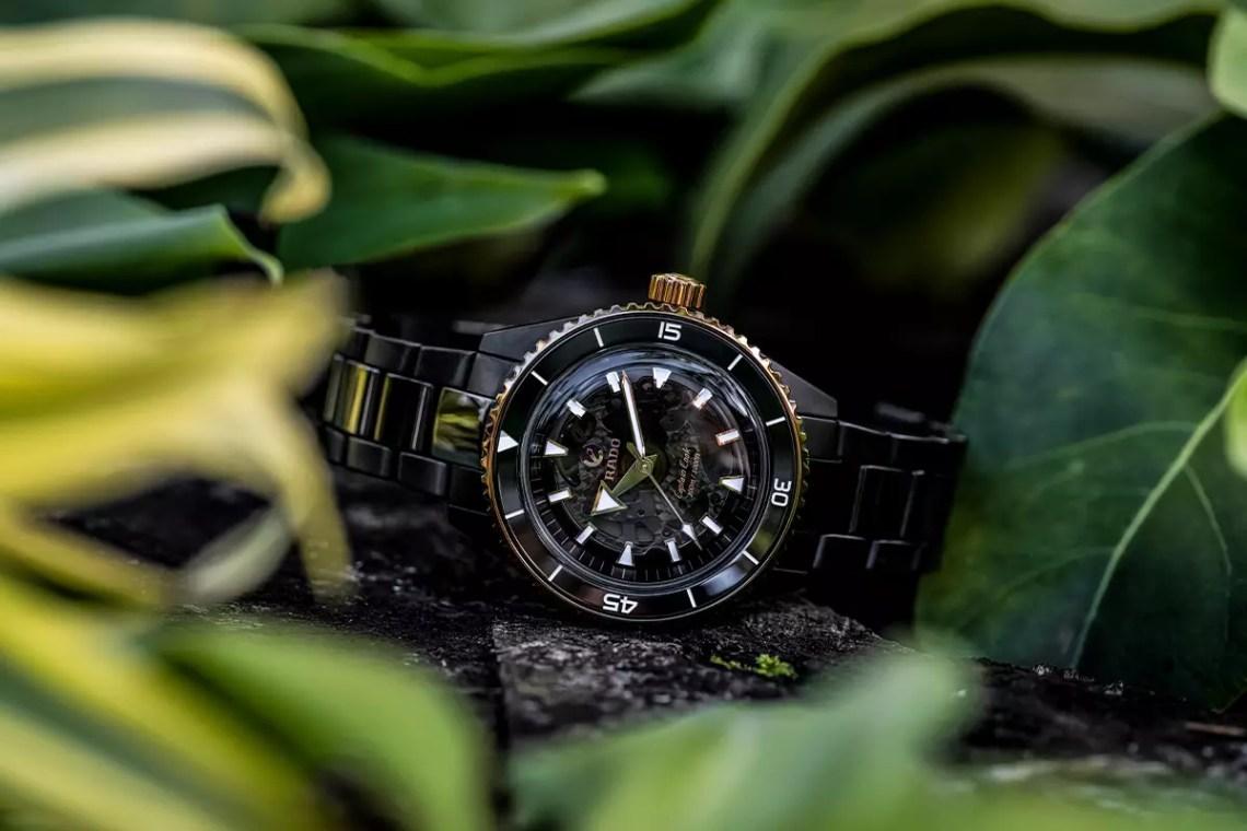 Rado's Captain Cook Watch Gets a High-Tech Ceramic Update for 2021