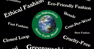 """Your A-Z Guide to """"Sustainable Fashion"""""""