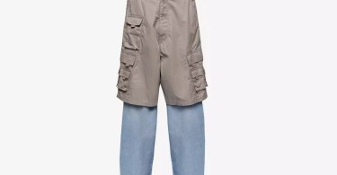 What Are Those? Balenciaga Unveils Cargo-Jean Hybrid in Time for Shorts Season