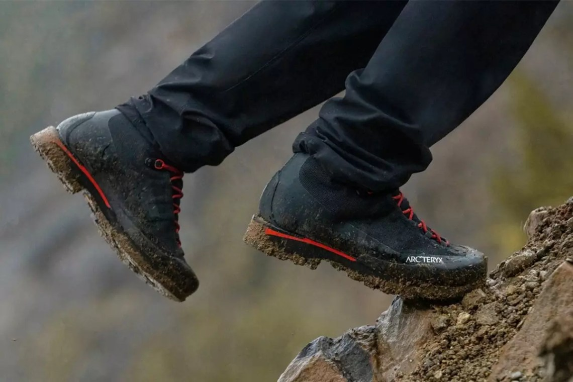 You Should Wear These Arc'teryx Hiking Boots With Really Nice Pants