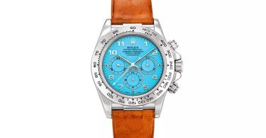 """The Rolex """"Zenith"""" Daytona Earned Its .1 Million Price Tag Because It's So Unusual"""