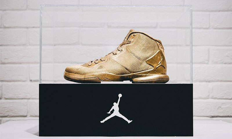 Jordan Brand Presents 23 Karat Gold Jordan SuperFly 4