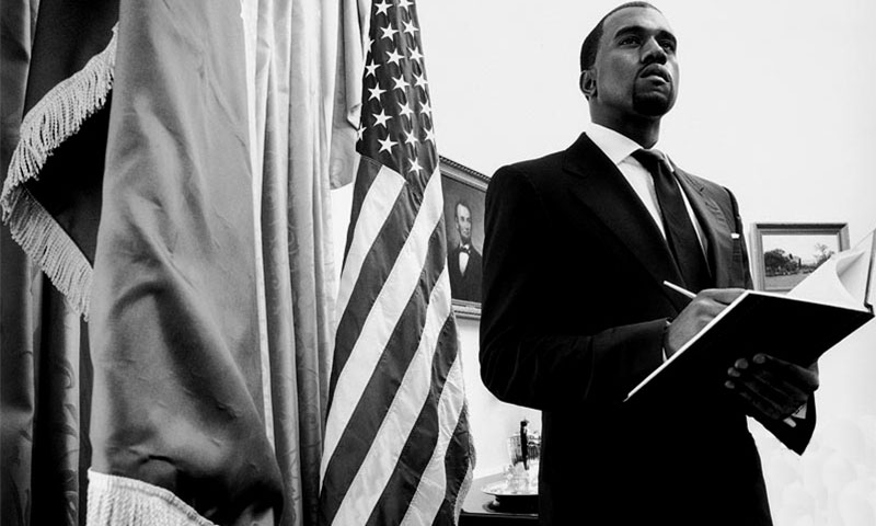 Image result for kanye west president