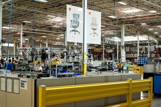 Herman Miller Factory Tour Aeron Chair Assembly
