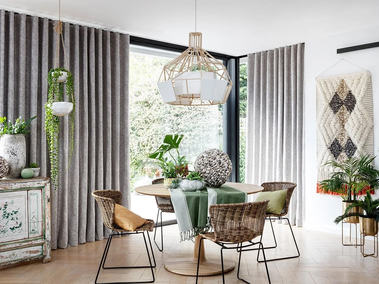 Dining Room Curtains | Made-to-Measure in the UK | Hillarys™ on Dining Room Curtains  id=47589