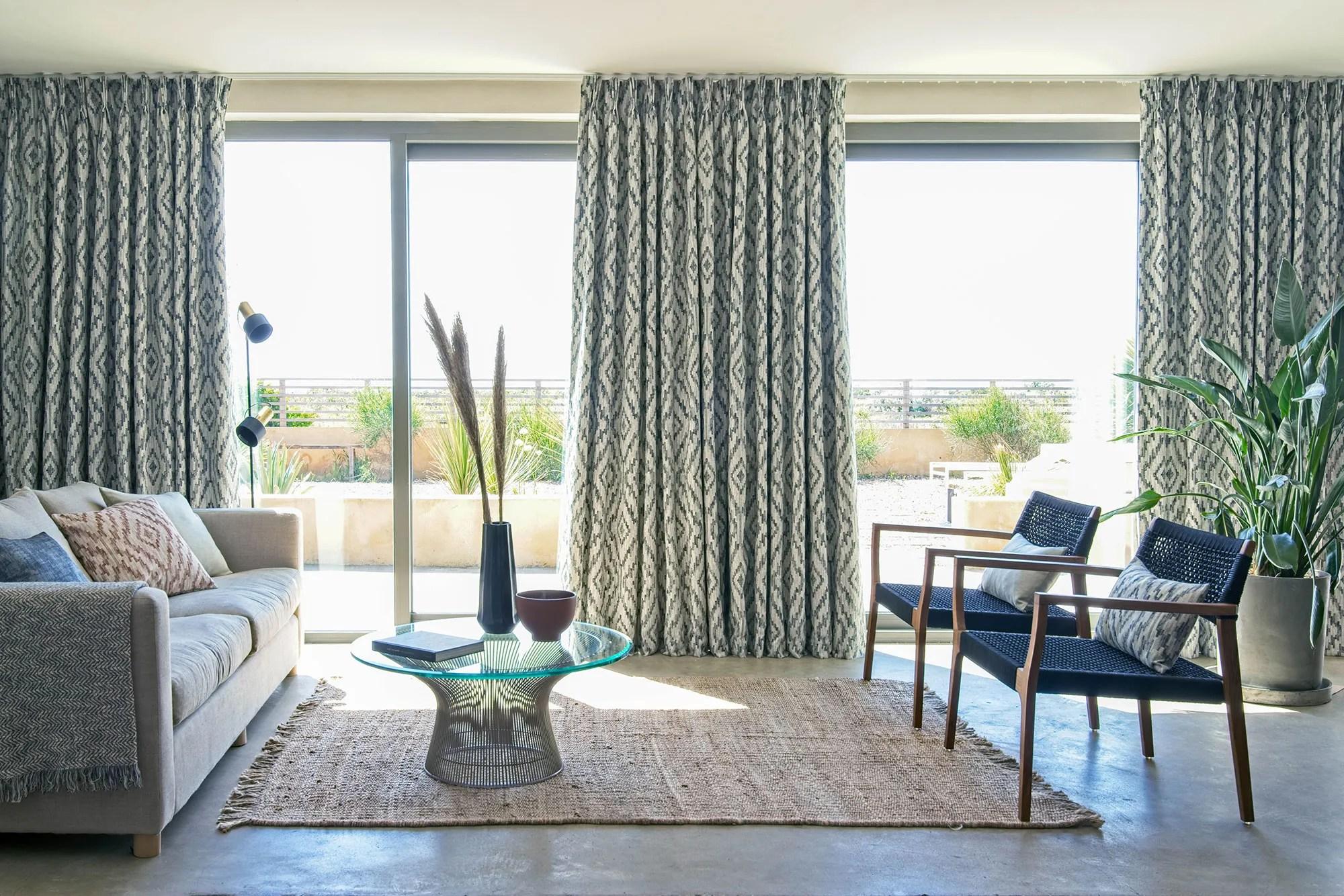 curtain ideas for wide windows