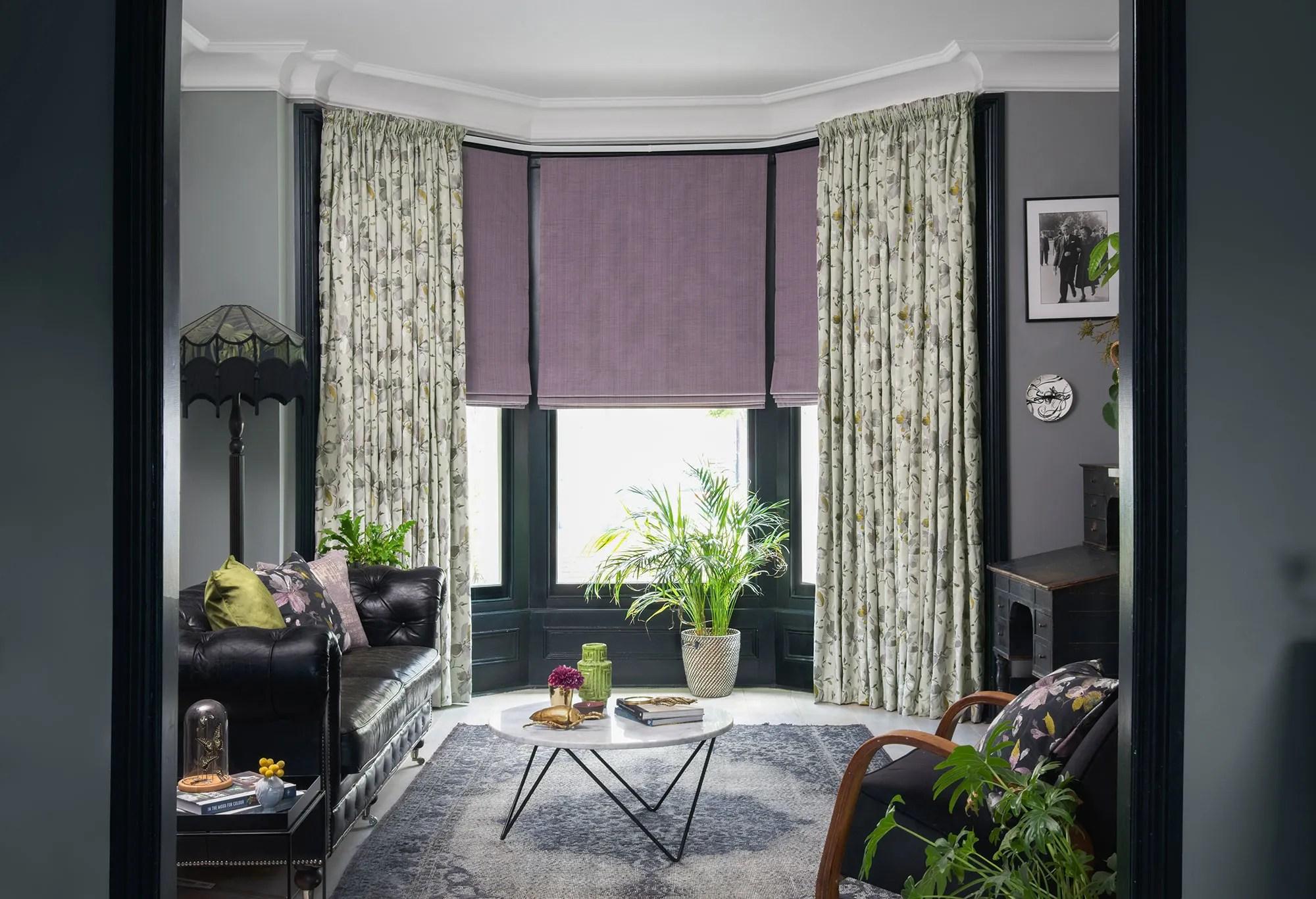 bay window curtain ideas hillarys