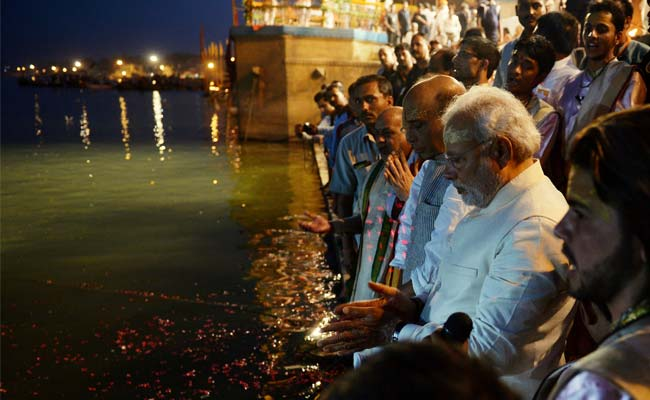 Modi - Clean Ganga Campaign