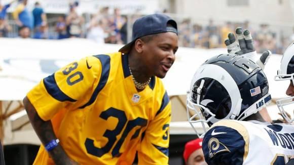 YG Takes Tour Of New $5B Los Angeles Rams NFL Stadium