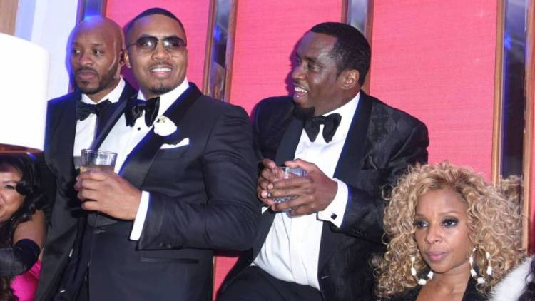 Diddy Reunites With Nas & Mary J. Blige For Turks & Caicos Birthday Celebration