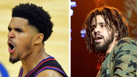 NBA Star Tobias Harris Gets Teased For Being A J. Cole Lookalike After  Dropping 25 Points | HipHopDX