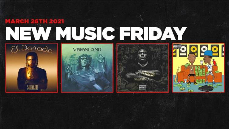 New Music Friday - New Albums From YBN Nahmir, Rod Wave, Young Dolph & Key Glock, 24kGoldn + More