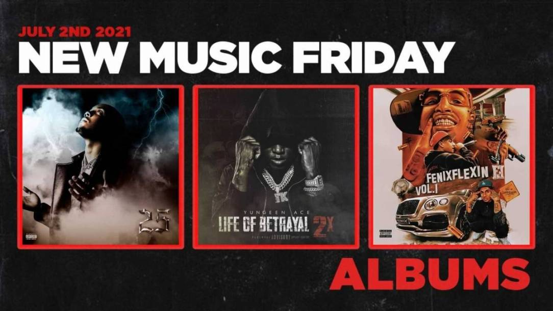 New Music Friday - New Albums From G Herbo, Yungeen Ace, Fatboi Sharif + Roper Williams, YN Jay + More