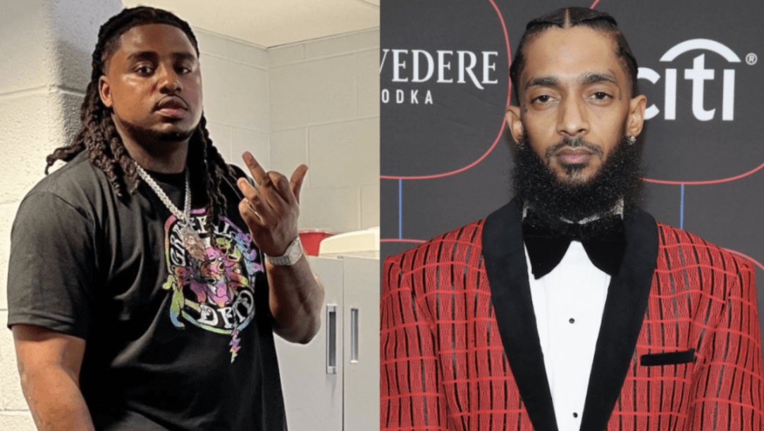 Kanye West Collaborator Rooga Uses Nipsey Hussle As Reason Why Rappers Need To Leave Hometown