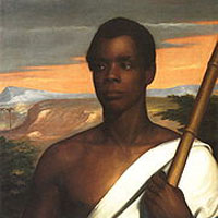 Joseph Cinqué of the Amistad (Nathaniel Jocelyn, 1840)