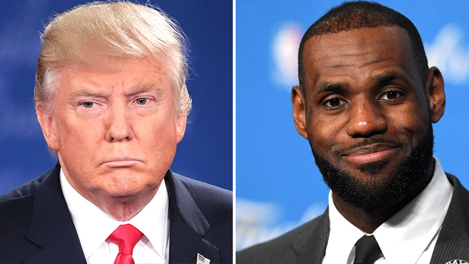 """Donald Trump Criticizes LeBron James for Being Outspoken """"Hater""""    Hollywood Reporter"""