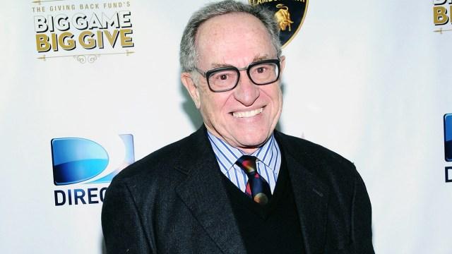 Alan Dershowitz Talks Jeffrey Epstein on TV ... But Plays Chicken in Court  | Hollywood Reporter