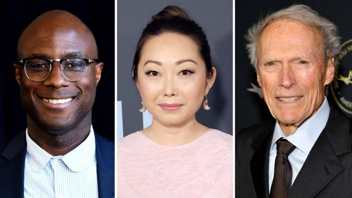 Director Barry Jenkins-Lulu Wang-Director-producer Clint Eastwood