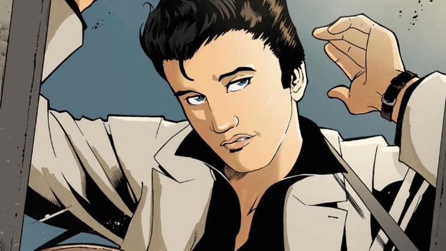 Elvis Graphic Novel Announcement