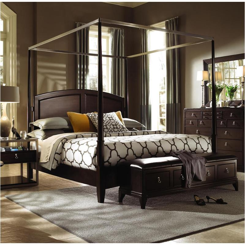 92 136h cn kincaid furniture alston eastern king poster bed with canopy