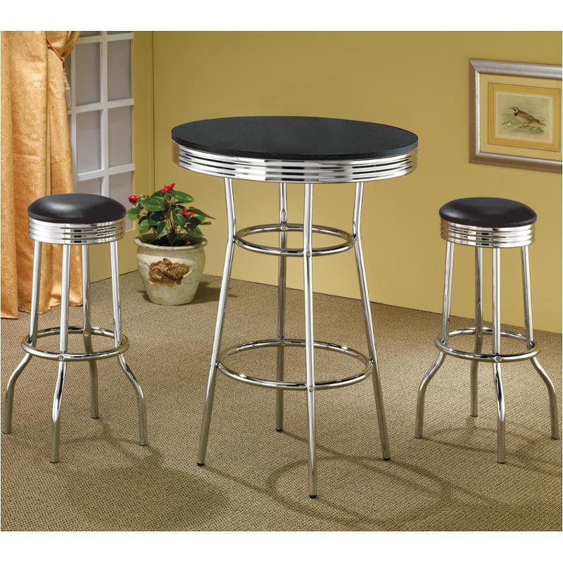 2405 coaster furniture cleveland bar table