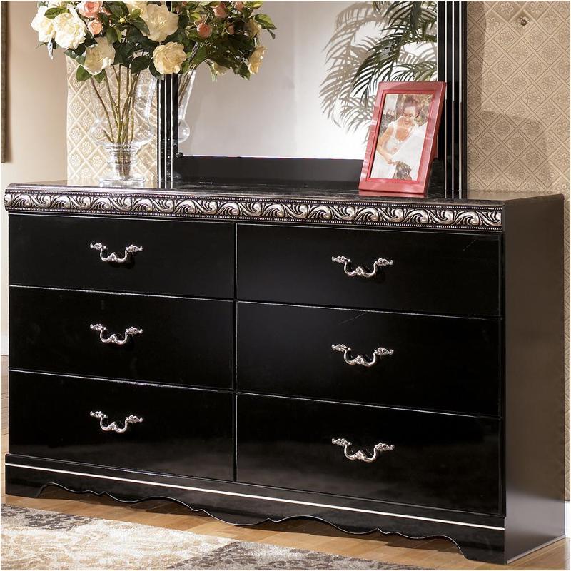b104 31 ashley furniture constellations black dresser