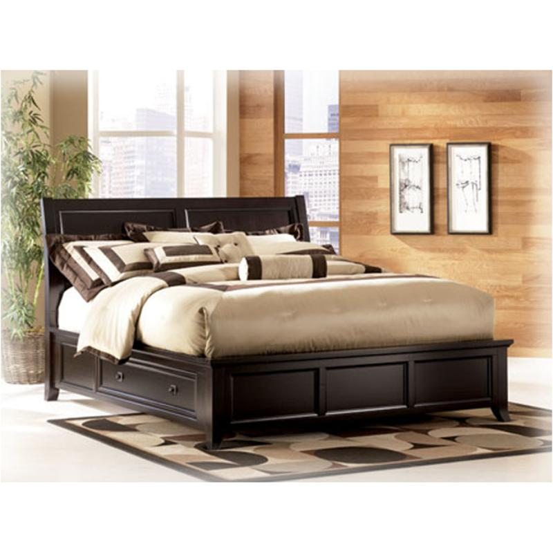 b551 78 ashley furniture martini suite king platform bed with storage