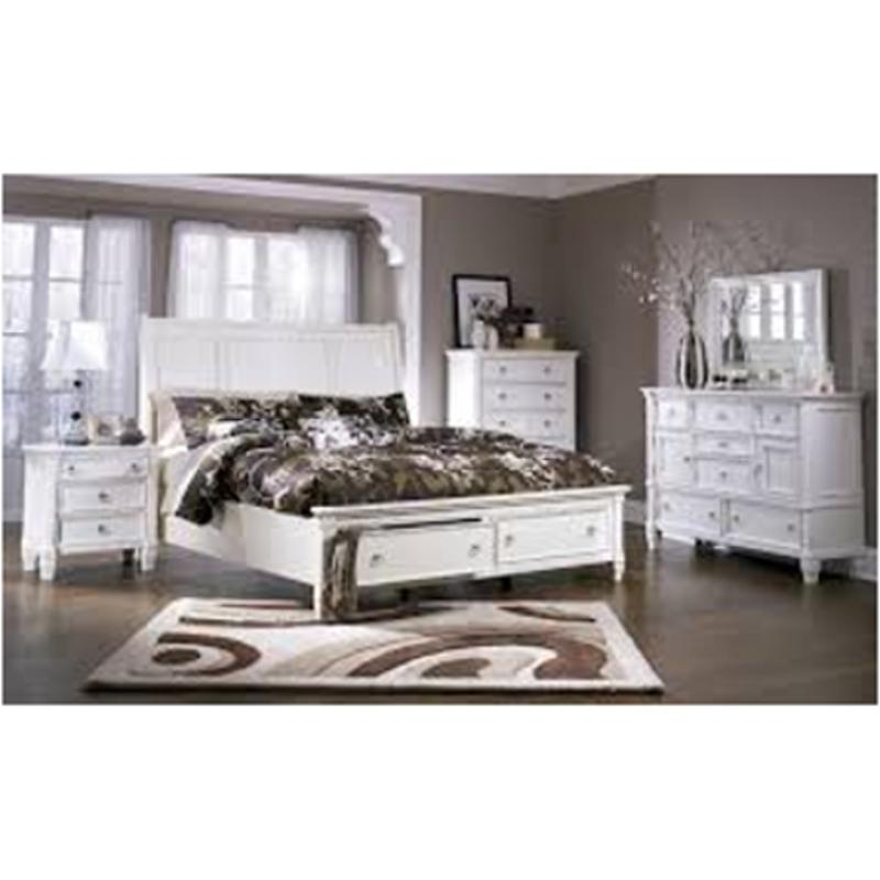b672 36 ashley furniture prentice white bedroom mirror