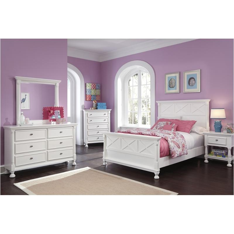 b502 57 ashley furniture kaslyn queen panel bed