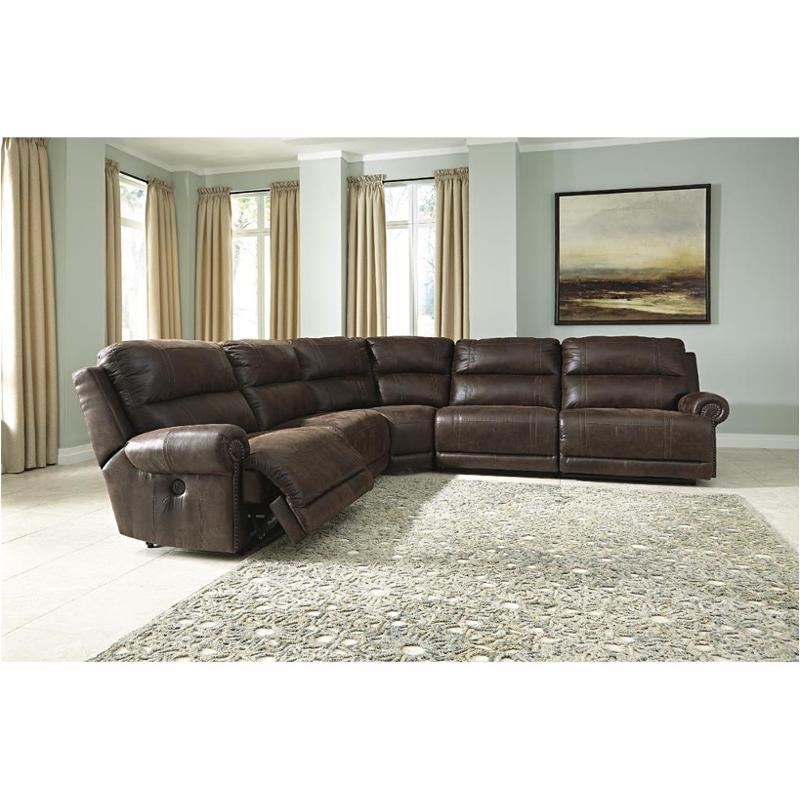 9310141 ashley furniture luttrell espresso raf zero wall recliner