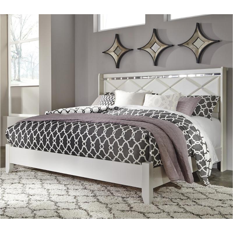 b351 58 ashley furniture dreamur champagne king california king panel bed