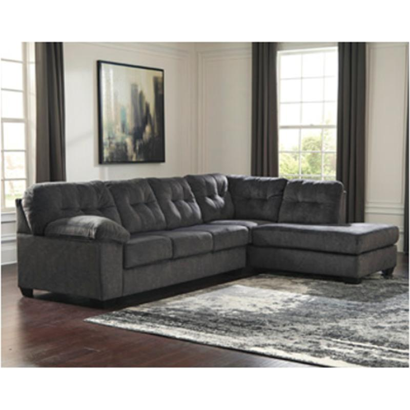 7050917 ashley furniture accrington granite raf corner chaise