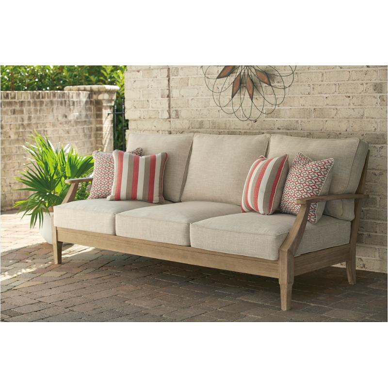 p801 838 ashley furniture clare view sofa with cushion
